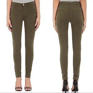 J BRAND Maria High Rise Skinny Jeans 27